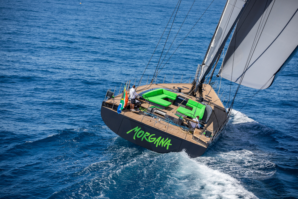 Image for article 30m Southern Wind Morgana delivered