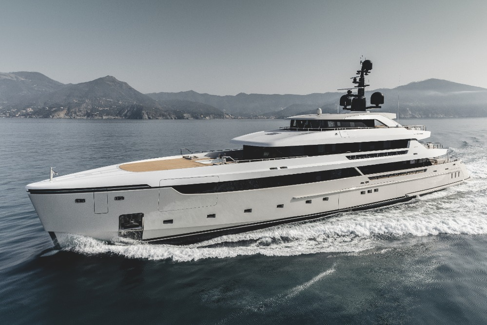 Image for article Sanlorenzo delivers first 62Steel