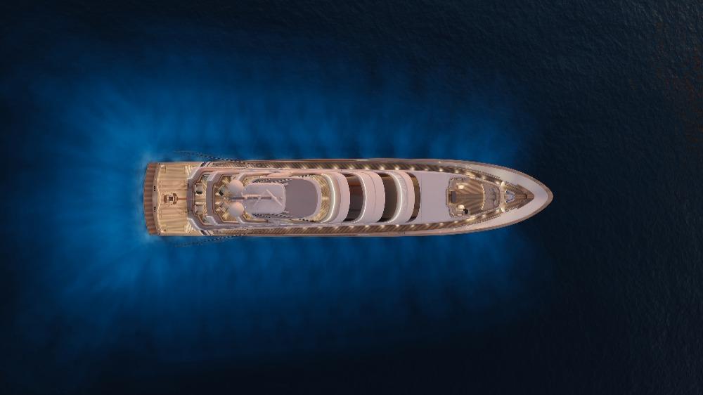 Image for article Royal Huisman and Vripack unveil 52m sportfish