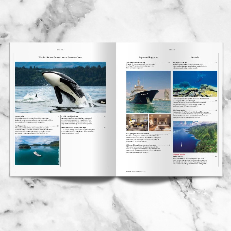 Image for article The Pacific Superyacht Report