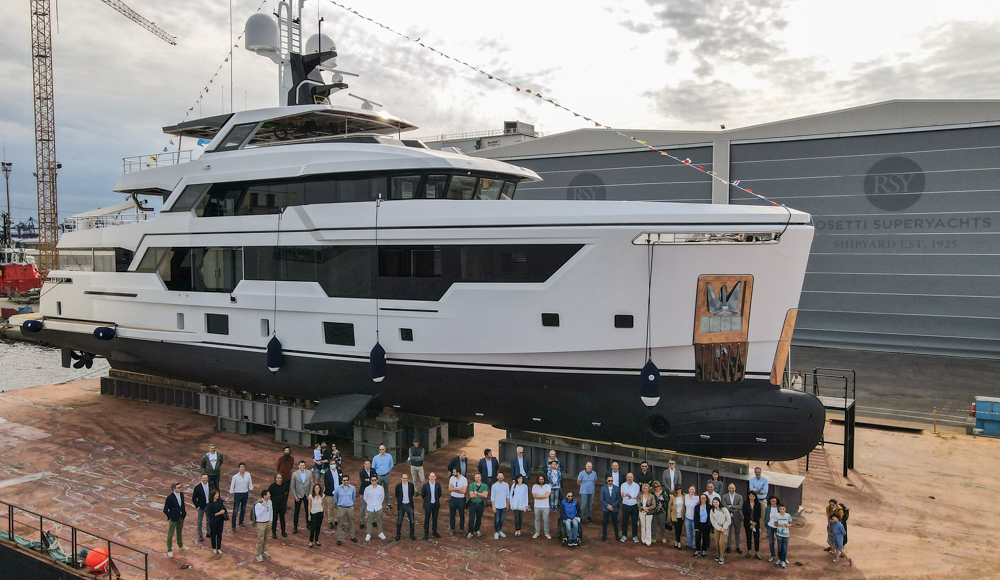 Image for article Rosetti Superyachts launches RSY 38m EXP