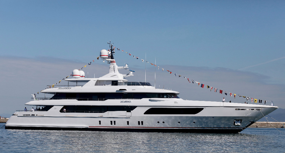 Image for article M/Y Legacy: The latest 56m by Codecasa