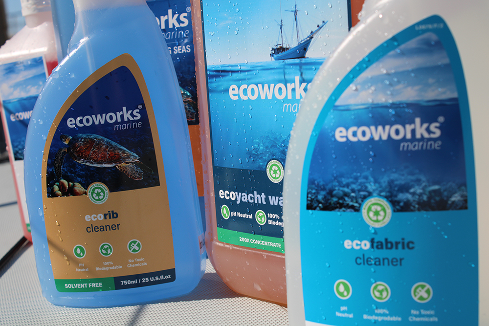 Image for article Pinmar Yacht Supply introduces initiative with Ecoworks Marine