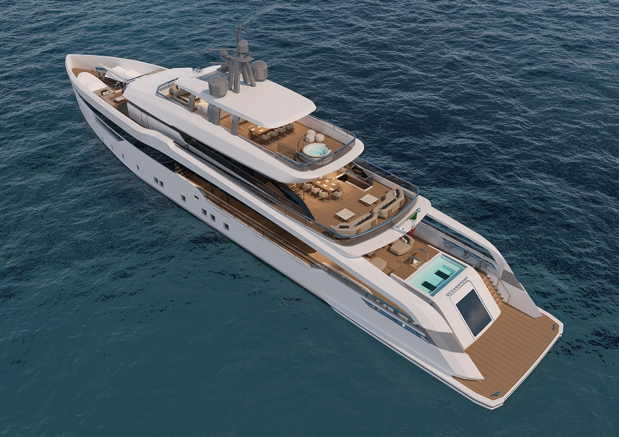 Image for article CRN releases initial design details for the bespoke 52m M/Y 142