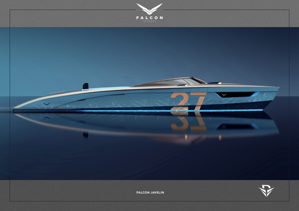 Image for article Falcon Tenders releases raft of superyacht design collaborations