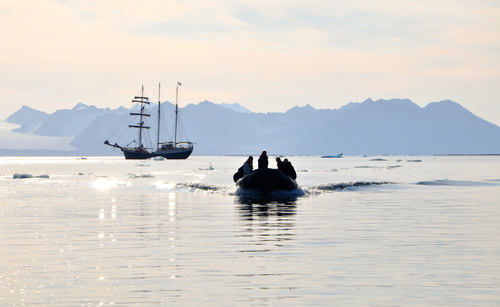 Image for article Sustainable yachting in the wild north