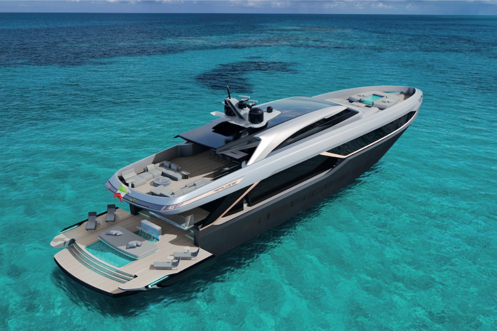 Image for article Falcon Yachts flies high again with the creation of a new Legacy