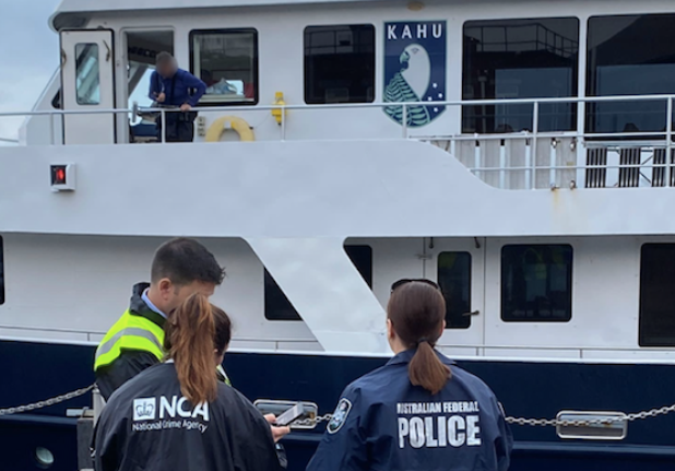 Image for article 37m exploration yacht seized in drug investigation