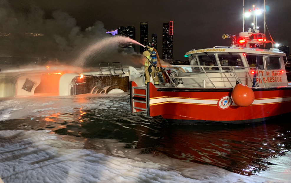 Image for article 2019 M/Y Andiamo yacht fire investigation summary