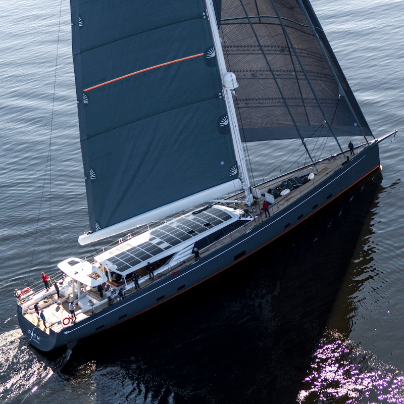 Image for article Solbian Solar delivers largest solar system ever installed on a sailing yacht