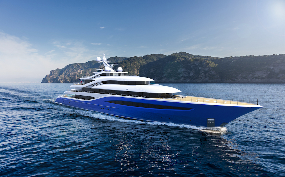 Image for article Turquoise Yachts' Largest New Build Project Vento Sold
