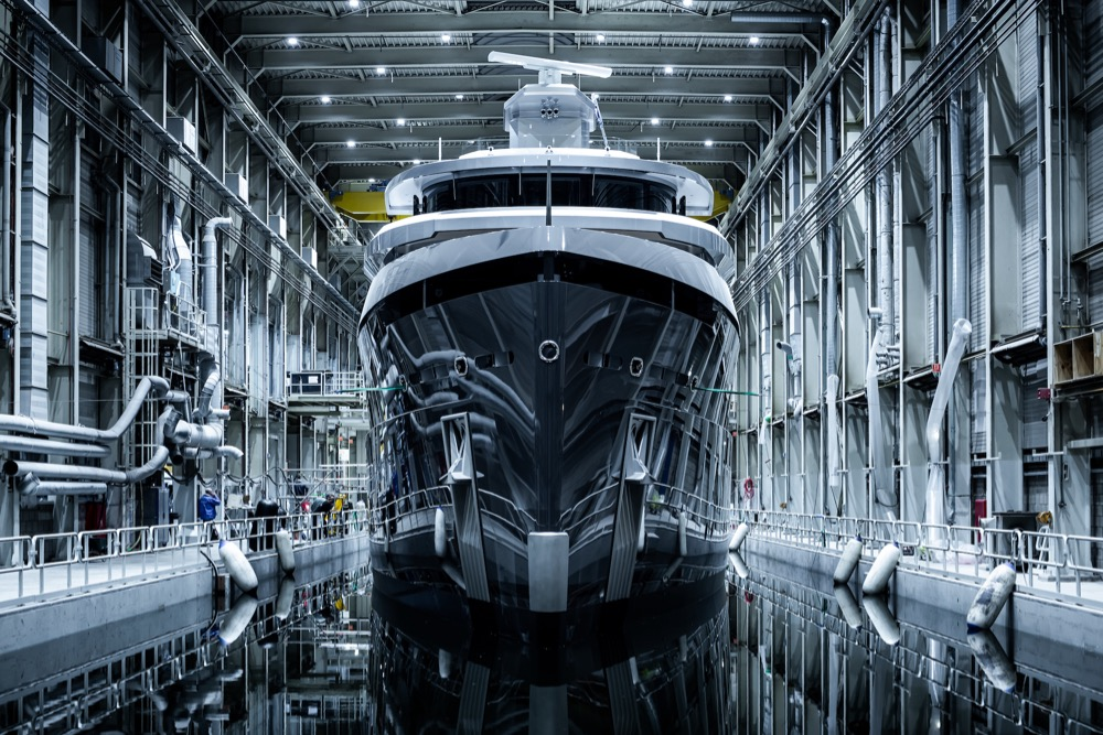 Image for article Feadship's Shinkai nears delivery