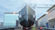 Admiral launches third yacht of the year