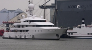 74m 'Ilona' back on the water after service