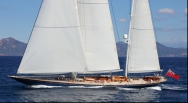 Ketch sailing yacht, Alejandra, listed for sale with Y.CO