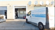 Azur Yacht Coatings installs paint cabin