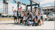 When one yacht crew receives €60,000 of prizes...