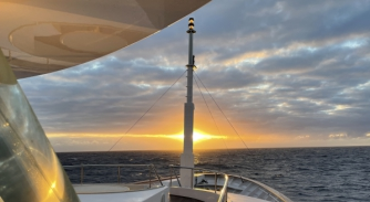 Image for Notes from M/Y Starfire's Atlantic crossing