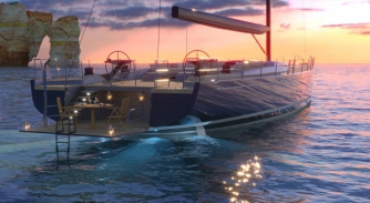 Image for Hybrid technology in the 30-40m sailing yacht market