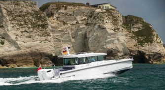 Image for Cox Marine partners with Axopar and Ribco at Monaco Yacht Show to demonstrate the benefits of Cox's diesel outboards