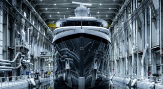 Image for Feadship's Shinkai nears delivery