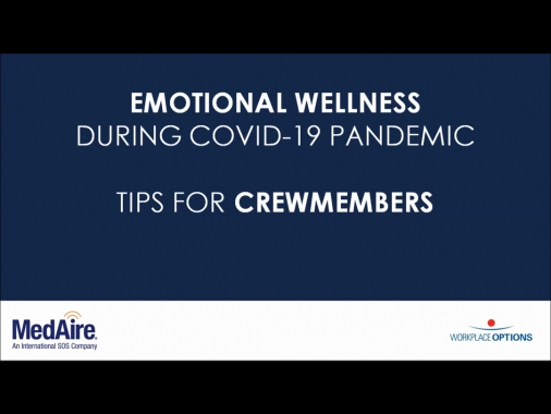 Video thumbnail for MENTAL HEALTH TIPS FOR CREW DURING COVID-19